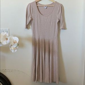 LuLaRoe | ribbed Nicole dress
